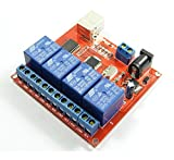 12v 4 Channel USB Relay Module Programmable Computer Control