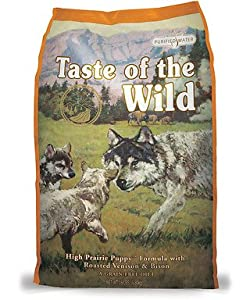 Taste of the Wild High Prairie Puppy Formula with Bison and Roasted Venison Dry Dog Food, 30-Pound Bag by Taste Of The Wild Pet Food