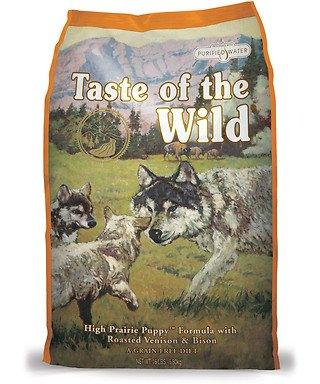 Taste of the Wild Grain-Free High Prairie Dry Dog Food for Puppy, 30-Pound Bag