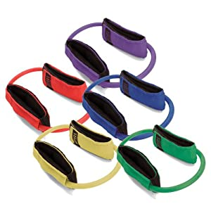 SPRI Lex Loop Resistance Band Exercise Cords