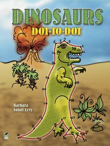 Dinosaurs Dot-to-Dot (Dover Children's Activity Books)