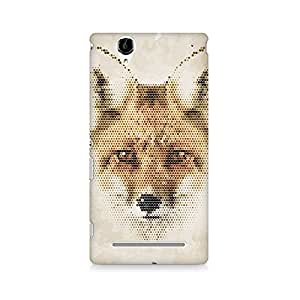 Mobicture Premium Printed Back Case Cover With Full protection For Sony Xperia T2