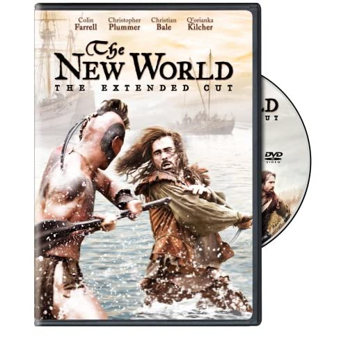 51nlL%2Bwd8XL. SS500  Early DVD Review: The New World Extended Cut