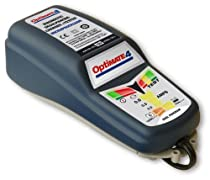 TecMate TM-141DUAL OptiMate 4DUAL 0.8Amp Weatherproof Desulfating Charger/Maintainer