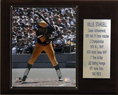 MLB Willie Stargell Pittsburgh Pirates Career Stat Plaque