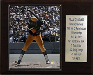 MLB Willie Stargell Pittsburgh Pirates Career Stat Plaque by C&I Collectables
