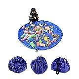 OJA お片づけ おもちゃ 収納袋 持ち運び 超大キッズマット 直径150cm 防水シート 玩具収納袋