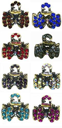 Set of 8 Mini Jaw Clip U864175-0678-8