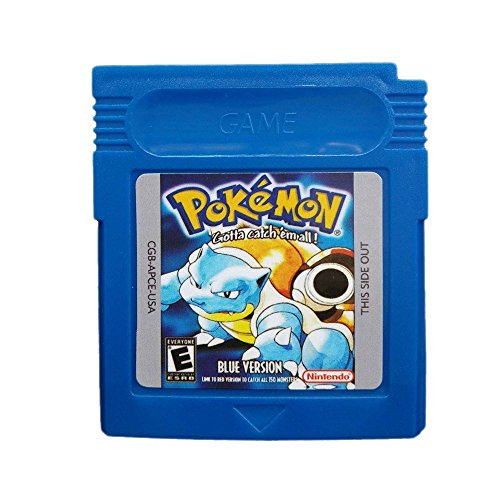New Game Cards For Nintendo Pokemon GBC Game Boy Color blue Version (Pokemon Blue Gameboy Color compare prices)