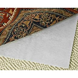 Safavieh Padding Collection PAD125 White Area Rug, 6 feet by 9 feet (6\' x 9\')