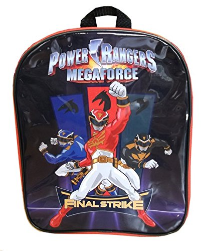 Power Rangers Final Strike Black and Red Children's Backpack - 1