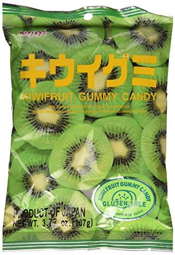 Japanese Fruit Gummy Candy from Kasugai - Kiwi - 107g (Kasugai Fruit Gummy Candy compare prices)