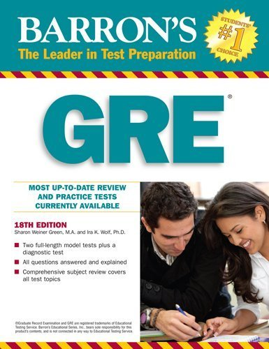 Sharon Weiner Green - Barron's GRE
