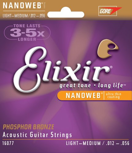 Elixir Strings Acoustic Phosphor Bronze Strings