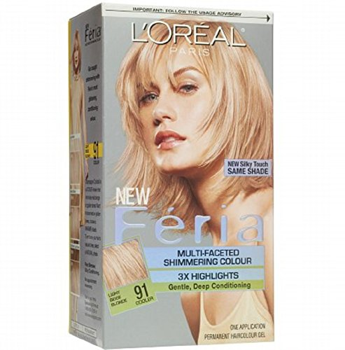 loreal-feria-permanent-haircolor-91-champagne-cocktail-1-ea-pack-of-4