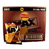 Walkers Max Chargrilled Steak Crisps x 32 1600g