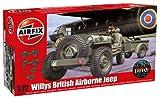 Airfix 1:72 Willys British Airborne Jeep Kit (A02339)