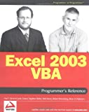 Excel 2003 VBA Programmer's Reference (0764556606) by Kimmel, Paul T.