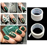 1 Roll Soft Nail Art Tips Guide Tapes Striping Line Sticker Decor Tool