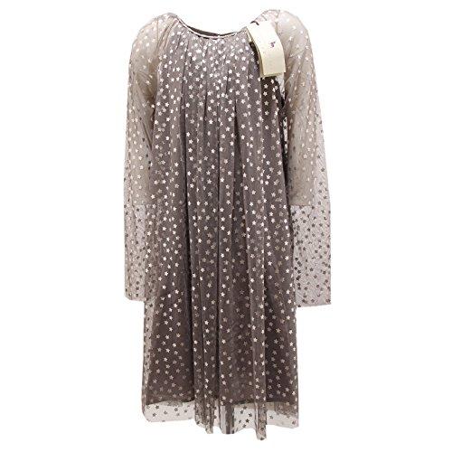 6914P vestito grigio tulle stelline bimba STELLA McCARTNEY dresses kids [14 YEARS]