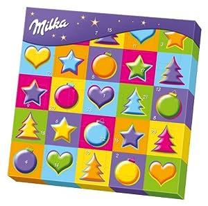 Milka Mix Adventskalender, 1er Pack (1 x 251 g) - Sortiert