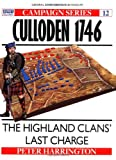 Culloden 1746: The Highland Clans' Last Charge (Campaign) (1855321580) by Harrington, Peter