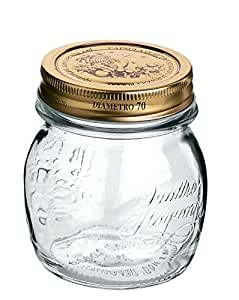 Bormioli Rocco Quattro Stagioni 5 Ounce Canning Jar, Set of 12