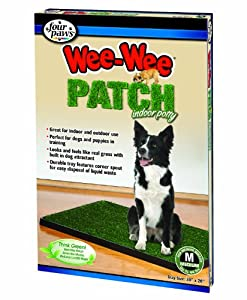 """Four Paws Wee-Wee Patch Medium Indoor Potty Dog House Breaking Tray, 20"""" by 30"""""""
