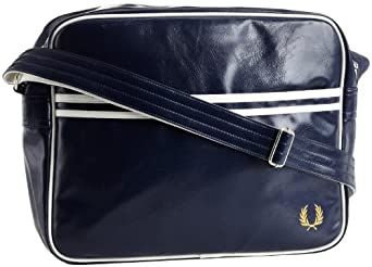 Fred Perry Black Essential Shoulder Bag 36