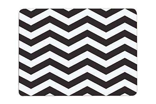 premier-housewares-chevron-manteles-individuales-4-unidades-diseno-de-zigzag-color-blanco-y-negro