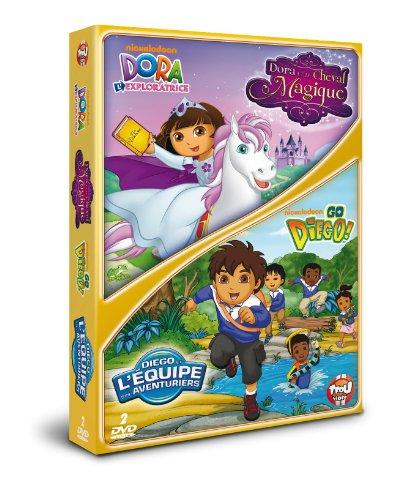 Dora l'exploratrice - Dora et le cheval magique + Go Diego! - Diego et l'équipe des aventuriers