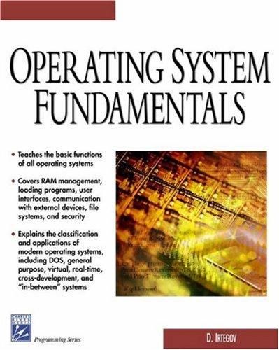 Operating System Fundamentals (Charles River Media Computer Engineering)