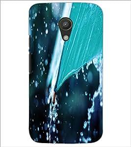 PrintDhaba Rain D-2288 Back Case Cover for MOTOROLA MOTO G2 (Multi-Coloured)