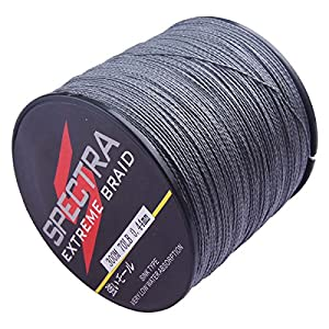 Spectra 100%Pe Braided Fishing Line Gray 100m-2000m 6-300Lb Test from SanLi