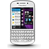 "Imported New Original BlackBerry Q10 16GB 2GB 3.1"" 8MP 2MP White LTE Smartphone-by Rainbow - B01JUSADDQ"