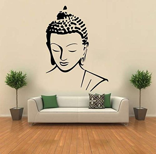 Hoopoe Decor Meditating Buddha Wall Stickers and Decals