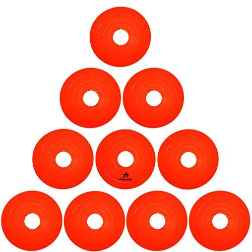 SPORTS科学フィジカルエクサネス マーカーコーン STAR 10枚セット BKシリーズ (オレンジ BK-O-10)