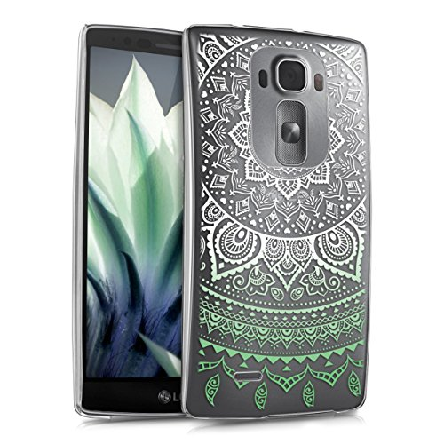 kwmobile Elegant and light weight Crystal Case Design Indian sun for LG G Flex 2 in mint white transparent (Lg G Flex Phone Case For Girls compare prices)