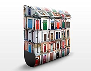 mantiburi Design Briefkasten 100 Türen 39x46x13cm Edelstahl  BaumarktKritiken und weitere Informationen