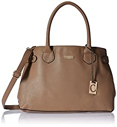 Cathy London Women's Handbag (Brown, Cathy-185)