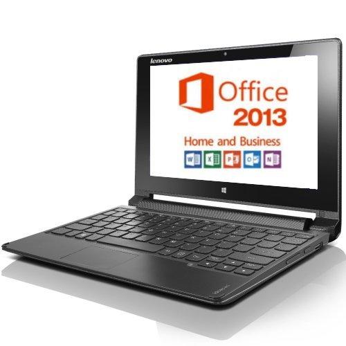 Lenovo IdeaPad Flex 10 59440894 Windows 8.1 Celeron 2GB 320GB 無線LAN Bluetooth webカメラ HDMI USB3.0 Microsoft Office Home & Business 2013 マルチタッチ対応10.1型液晶ノートパソコン バッテリー駆動時間最大約5.7時間