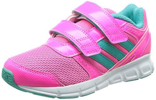 adidas Performance Hyperfast, Unisex-Kinder Laufschuhe, Pink (Solar Pink/Vivid Mint F14/Flash Orange S15), 36 EU (3.5 Kinder UK)