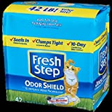 FRESH STEP CAT LITTER 261345 Fresh Step Odor Shield Scoop for Pets, 42-Pound