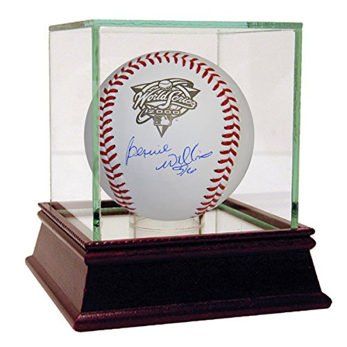 Bernie Williams Signed 2000 World Series Baseball (Mlb Auth) front-1066928