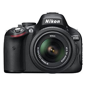 Nikon Digital SLR D5100 kit with AF-S 18-55mm VR lens