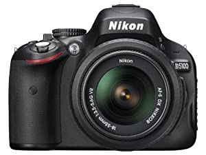 Nikon D5100 DSLR Camera with 18-55mm f/3.5-5.6 AF-S Nikkor Zoom Lens (OLD MODEL)