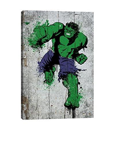 Marvel Comics Gallery  Hulk Spray Paint Canvas Print