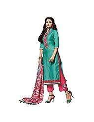 Kalaahari Women's Cotton Unstiched Salwar Suit - B00V9WHLHI
