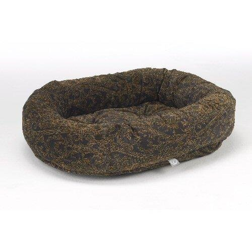 Bowsers Microvelvet Donut Dog Bed in Windsor (Windsor, Small (27in x 22in))