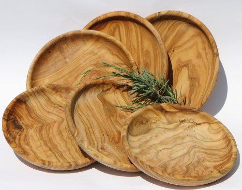 set-piatto-lamamma-6-pezzi-legno-di-ulivo-con-molto-bella-venatura-oliato-diametro-ca-15-cm-altezza-